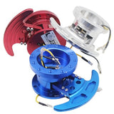 Universal Aluminum Auto Steering Wheel Snap Off Removable Quick Release Hub Adapter Boss kit Blue ,Red,Gold,Sliver