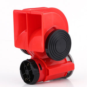 Universal Enhanced 12/24V 530HZ Car Air Horn Auto Electric Air Loud Car Truck Truck Lorry Boat Motorcycle plastic Dual-tone Horn