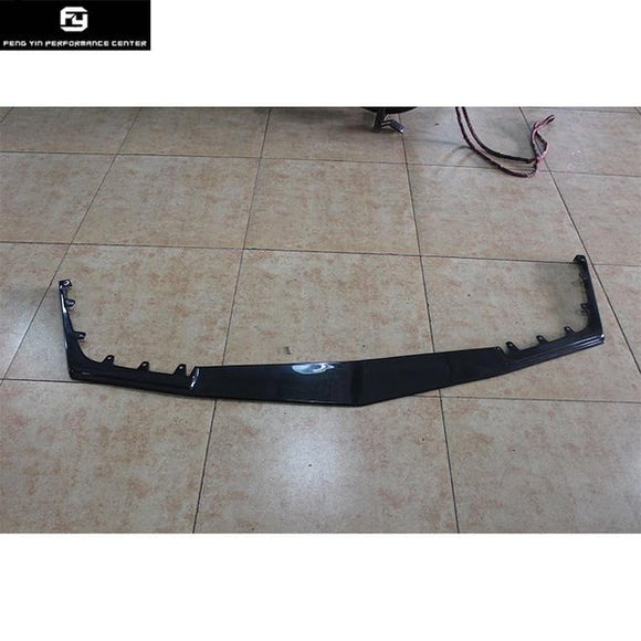 CTS-V Coupe Carbon Fiber front bumper lip for Cadillac CTS-V Car body kit 2013