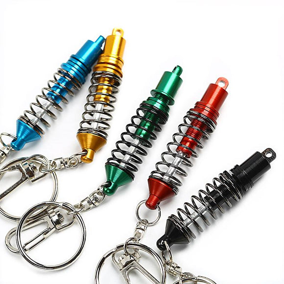 (Drop Shipping) JDM Tein Adjustable Coilover shock  Keychain Keyring Key Chain