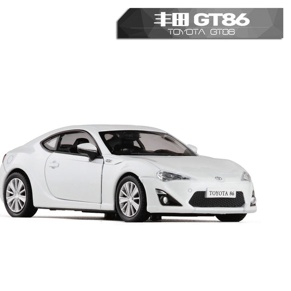 RMZ City 1:36 High Simulation Diecasts Model Toy Car Metal Toyota GT86 Classical Matte Alloy Model Excellent For Children Gifts