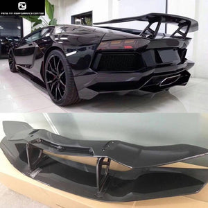 Hot Sell Lp700 Carbon Fiber Rear Spoiler Wings For Lamborghini