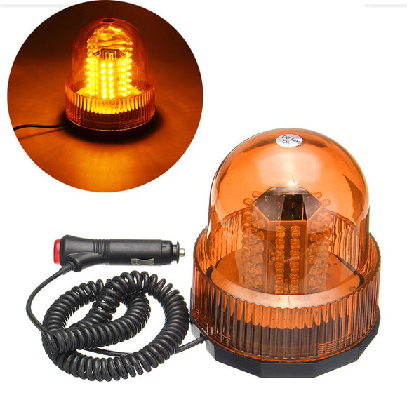Led Beacon Rotate Strobe Light Amber