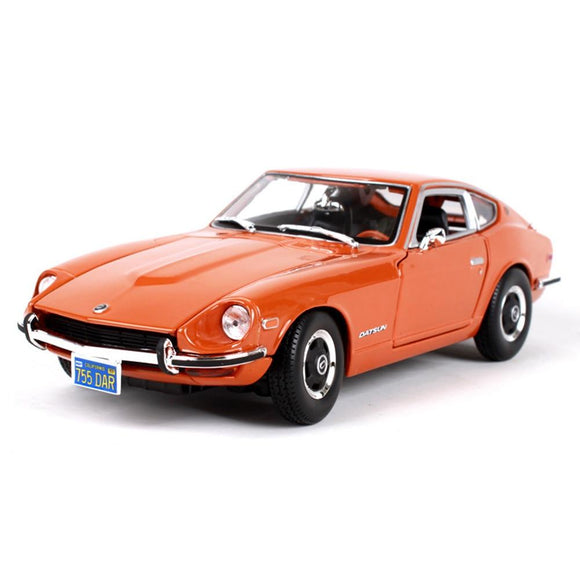 1:18 1971 JAPAN Nissan Datsun 240Z Sports Car Diecast Model Car Toy New In Box  For Gift/Collection/Kids/Decoration