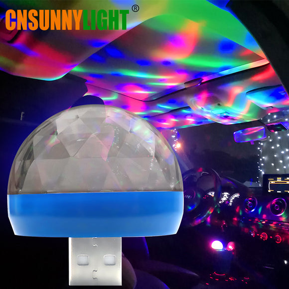 Car USB Party Light