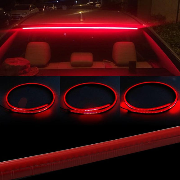 Red Led Rear Window Multi function Brake Light