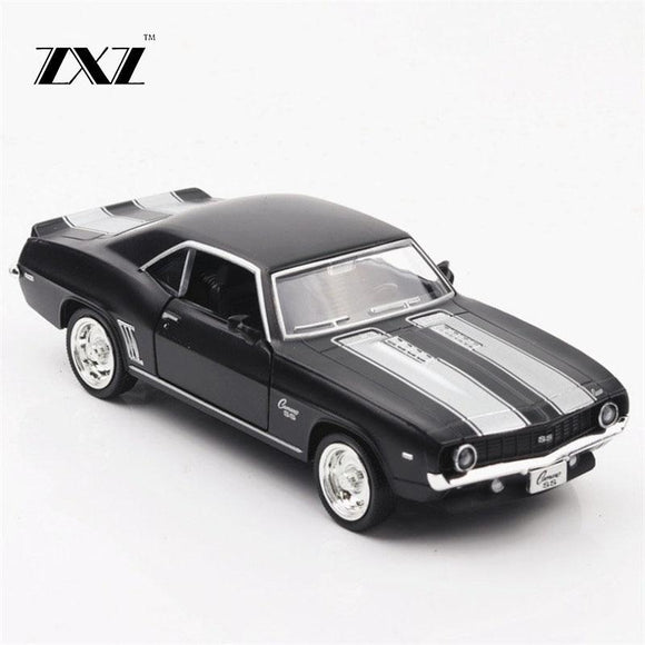 1:36 American muscle car Toy Car Chevrolet Camaro Metal Toy Diecasts & Toy Vehicles Car Model Car Toys For Children