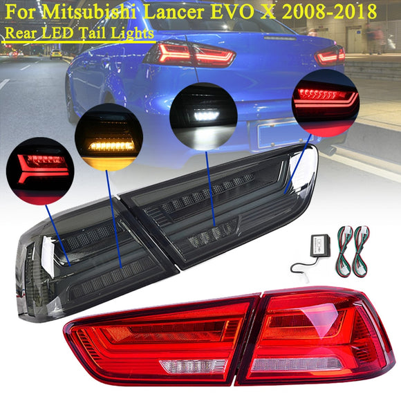 Mitsubishi Lancer EVO X 2008-2017 Rear LED Tail Brake Light