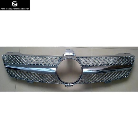 Racing Grills W219 CLS500 CLS55 AMG ABS Car Mesh Grille Front Bumper grill For Mecedes Benz W219 CLS350 04-10