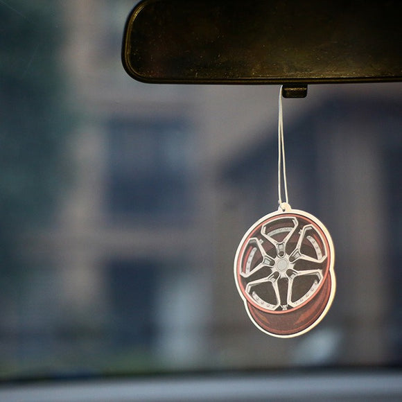 Wheel Rims Air Freshener - Cologne