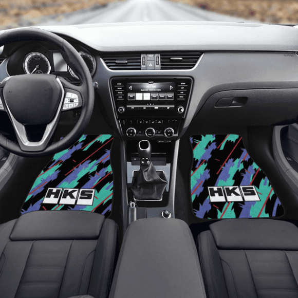 HKS STYLE FLOOR MATS AT TOKYOTOMS.COM