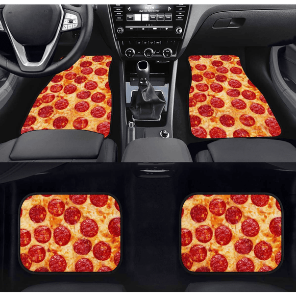 Pepperoni Pizza Floor Mats tokyotoms.com