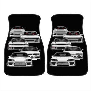 Custom The silvia Floor Mats