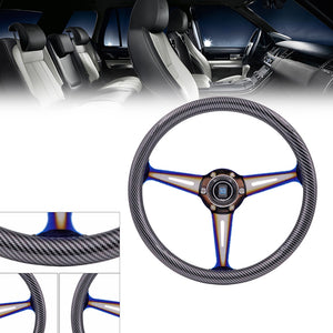 "15"" (380MM) Carbon Dipped ND Steering Wheel"