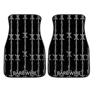 Custom Barbwire Floor Mats