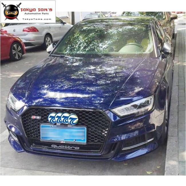 A3 Rs3 Quattro Racing Grills Abs Honeycomb Grille For Audi A3 Rs3 Front  Bumper 2017