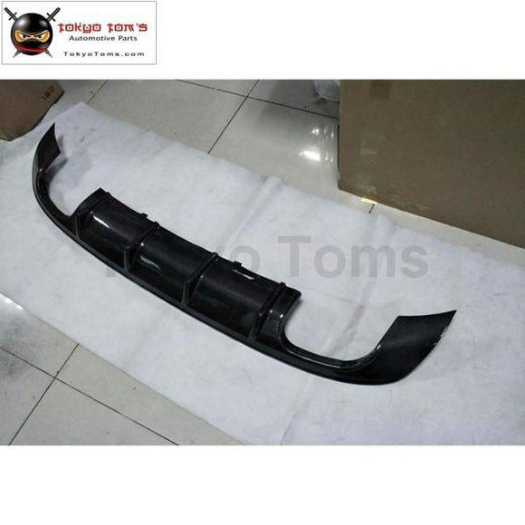 A3 S3 Style Carbon Fiber Rear Bumper Diffuser Lip For Audi Sportback Car Styling 2013Up