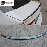 A3 Sedan Carbon Fiber Rear Spoiler Trunk Lip Wings For Audi Limousine Original Style 13-16