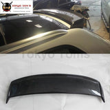 A3 Sportback Carbon Fiber Rear Spoiler Trunk Lip Wings For Audi Top Wings 09-12