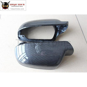 A4 A5 B9 Carbon Fiber Side Mirror Covers Mask For Audi Car Styling 13-16 Free Shipping