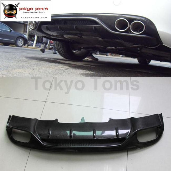 A4 B8 Abt Style Carbon Fiber Rear Bumper Diffuser Car Bumper Lip For Audi Standard 09-12
