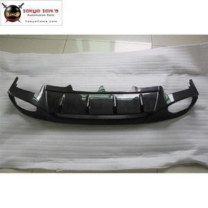 A4 B8 Carbon Fiber Rear Bumper Diffuser Car Bumper Lip For Audi Standard 09-12