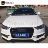 A4 B9 Wd Style Car Body Kit Pp Unpainted Auto Front Bumper Lip Side Skirts Rear Diffuser For Audi