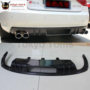 A5 Coupe Dtm Style Carbon Fiber Rear Bumper Diffuser Car Bumper Lip For Audi 12-16