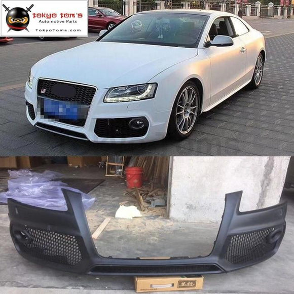 A5 Coupe Pp Auto Front Bumper Front Racing Grills For Audi Coupe Caractere Style Car Body Kit 08-12