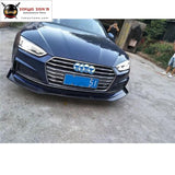 A5 Rs5 Style Carbon Fiber Front Bumper Lip Rear Diffuser Side Skirts Spoiler For Audi Sedan 2016