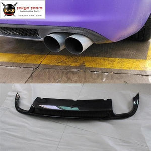 A6 C7 S6 Carbon Fiber Rear Bumper Diffuser Lip For Audi Car Body Kit 09-11