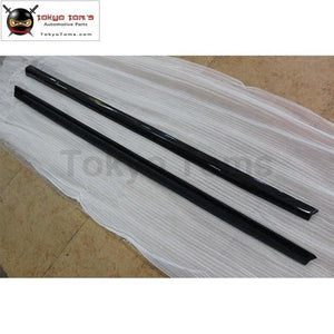 A7 Abt Style Carbon Fiber Auto Car Side Skirts For Audi Body Kit 2011-2014