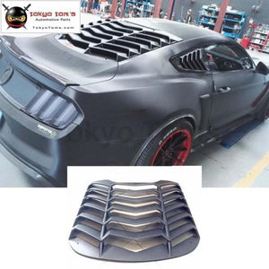 Abs Car Shutter Rear Windshield For Ford Mustang Car Body Kit 15-17