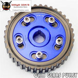 Adj Cam Gear Pulley Timing Fits For Honda Sohc D15 D16 D-Series Engine Blue