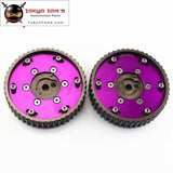 Adjustable Cam Gear Gears Pulley For Bmw E21 E28 E30 E34 E36 318I ( 2Pcs) Purple