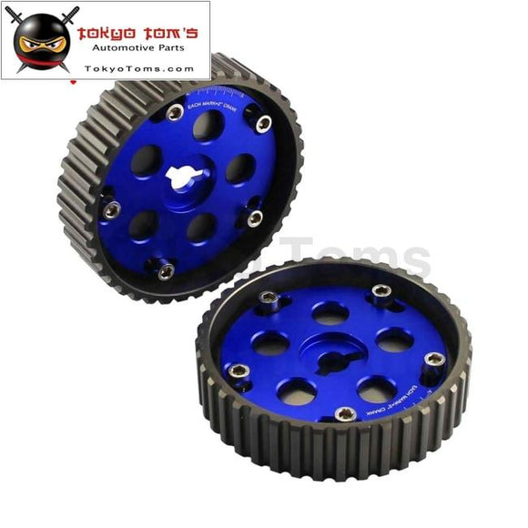 Adjustable Cam Gears & Swift Cam Pulley For Suzuki Swift Gti G13B Blue