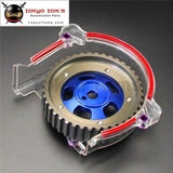 Adjustable Single Cam Gear Sprocket+ Clear Cover For Mitsubishi Mirage 4G15 1.5L