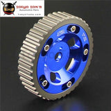 Adjustable Single Cam Gear Sprocket For Mitsubishi Mirage 4G15 1.5L Engine Blue