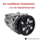 Air Conditioning Compressor For Vw Caravell 2.5T For Renault Megane Cabriolet Classic Transporter