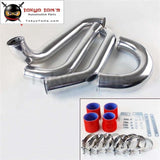 Alloy Intercooler Piping Pipe Kit Fit For Toyota Supra Jza80 Turbo 2Jz Gte Black / Blue Red Aluminum
