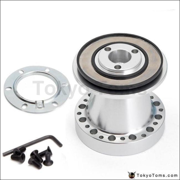 Aluminium Steering Wheel Hub Adapter Boss Kit For Mitsubishi Kits