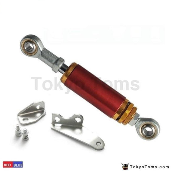 Aluminum Adjustable Engine Torque Damper Shock Kit 96-00 For Honda Civic Ek9 Ek3 Ej Blue/red