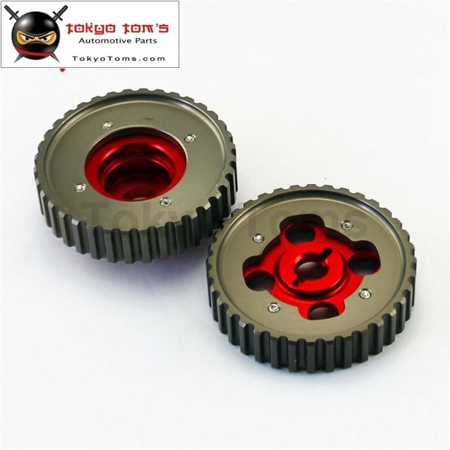 Aluminum Cam Gears Pulley Pair Fits For Toyota Levin 4Age 20V Ae101
