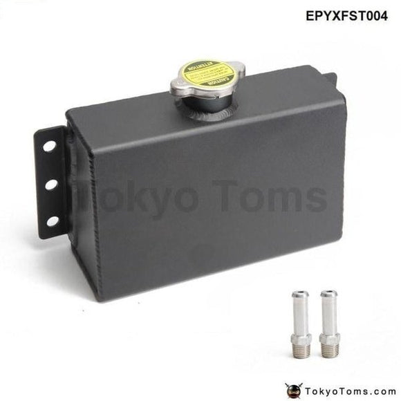 Aluminum Coolant Expansion Fill Fuel Tank For Honda Civic 240Sx Wrx Epyxfst004 Systems