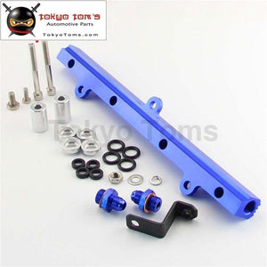 Aluminum Fuel Injector Inject Rail Fits For Mr2 Sw20 Celica St205 Gen3 3S-Gte Blue