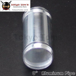 Aluminum Hose Adapter Tube Joiner Pipe Coupler Connector 22Mm 0.86 Inch L=76Mm Piping