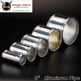 Aluminum Hose Adapter Tube Joiner Pipe Coupler Connector 48Mm 1.89 Inch L=76Mm Piping