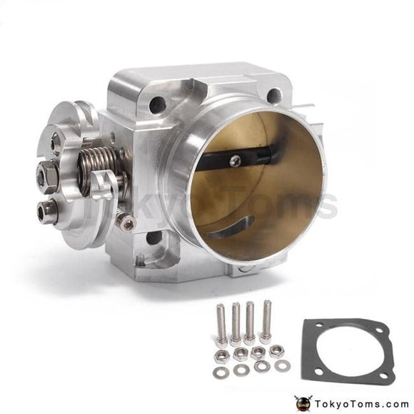 Aluminum Intake Manifold 70Mm Throttle Body Performance Billet For Mitsubishi Lancer Evo 4 5 6 4G63