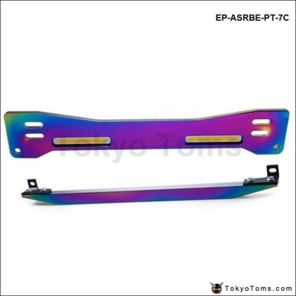 Aluminum Neochrome Rear Suspension Subframe Brace+Lower Tie Bar For Mitsubishi Proton Wira Evo1-3