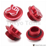 Aluminum Racing Car Billet Oil Cap Honda